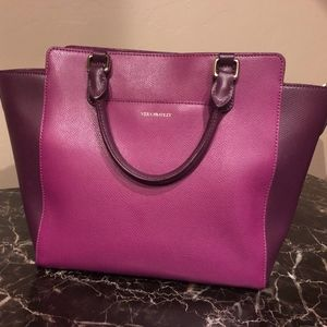 Vera Bradley Morgan Satchel in Plum